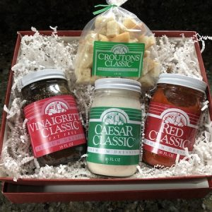 Gift Box with 3 Dressings and Croutons
