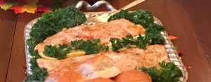 Grilled Salmon with Caesar Dressing Marinade